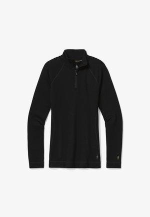 MIDWEIGHT 250 BASELAYER 1/4 ZIP - Camiseta de manga larga - black