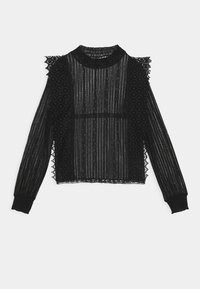 Pieces - PCGURLI - Long sleeved top - black - 0