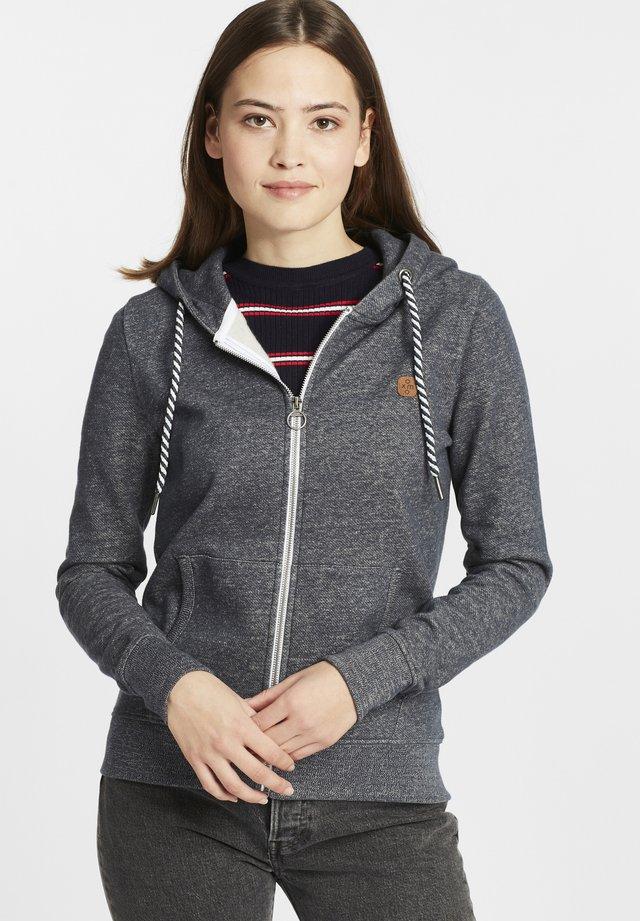 CELIA - veste en sweat zippée - insignia blue