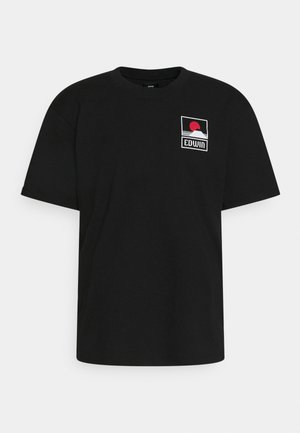 SUNSET ON MT FUJI UNISEX - Potiskana majica - black