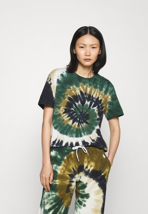 T-shirt con stampa - forest sprial