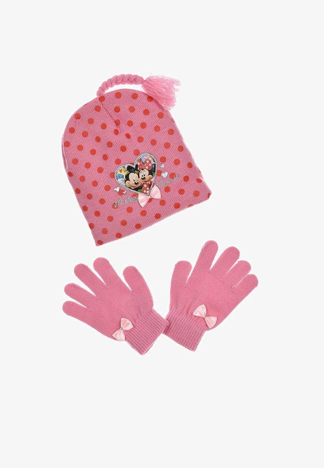 Gloves - rosa