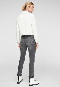 QS by s.Oliver - Faux leather jacket - cream - 2