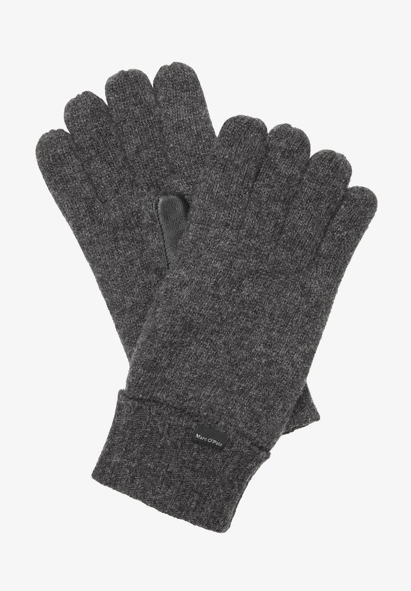 Marc O'Polo - Gloves - dark grey melange