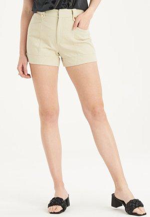 ISABEL SHORTS - Shorts - beige