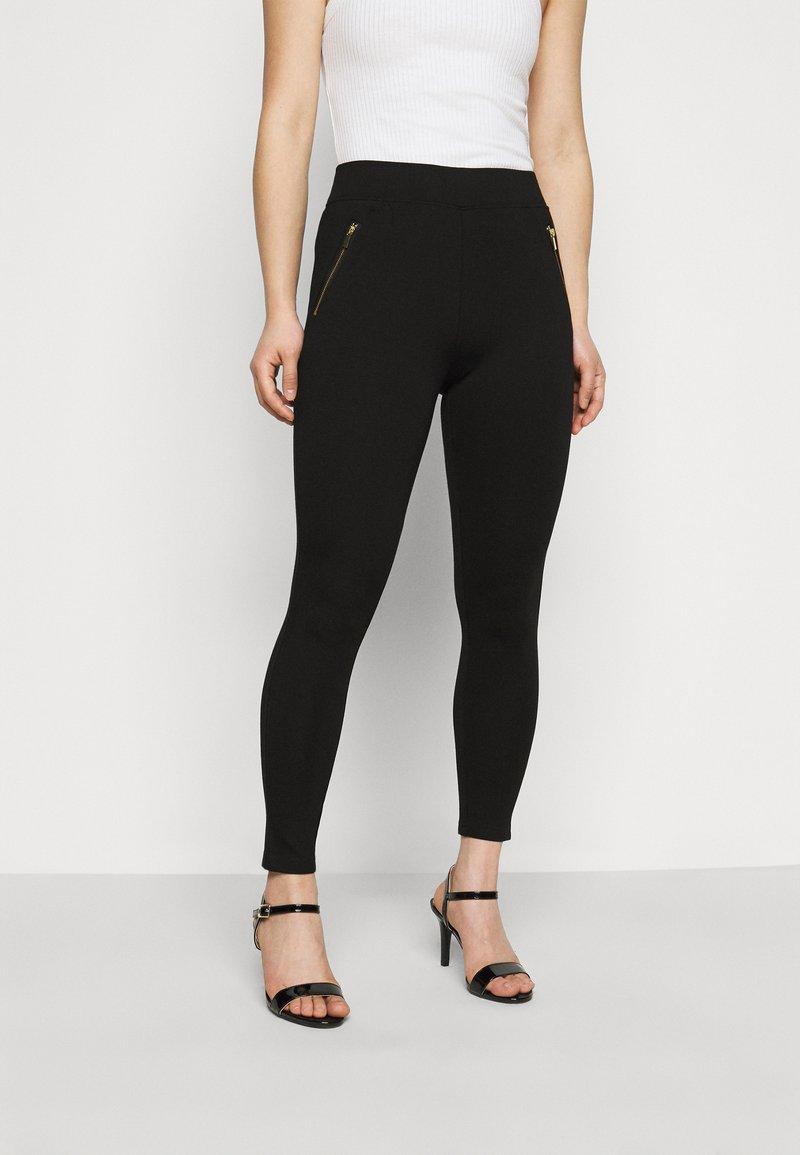 New Look Petite - PONTE - Leggings - Trousers - black