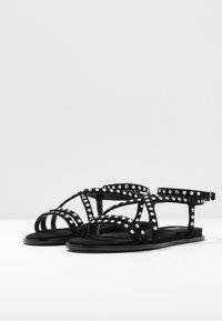 Liu Jo Jeans - THEA  - Sandalias - black - 4