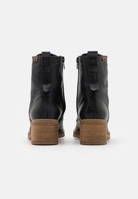 mtng - CASIO - Šněrovací kotníkové boty - black - 3