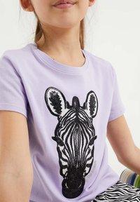 WE Fashion - T-shirts print - lilac - 1
