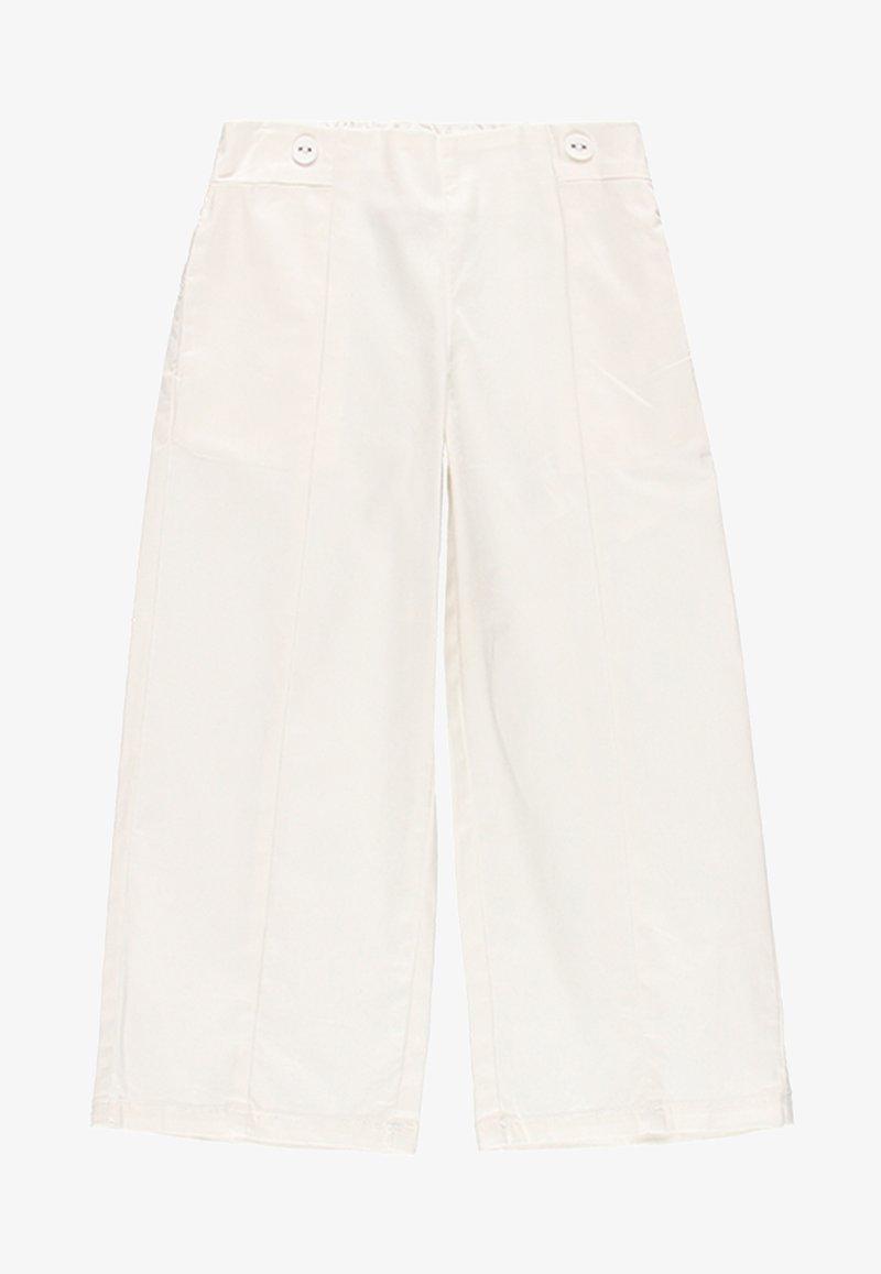Boboli - Spodnie materiałowe - white