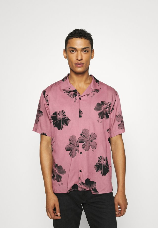 Koszula - pink/black