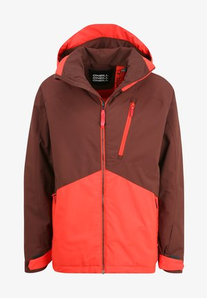 APLITE  - Snowboard jacket - bitter chocolate
