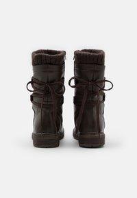 Anna Field - Botas con cordones - dark brown - 3