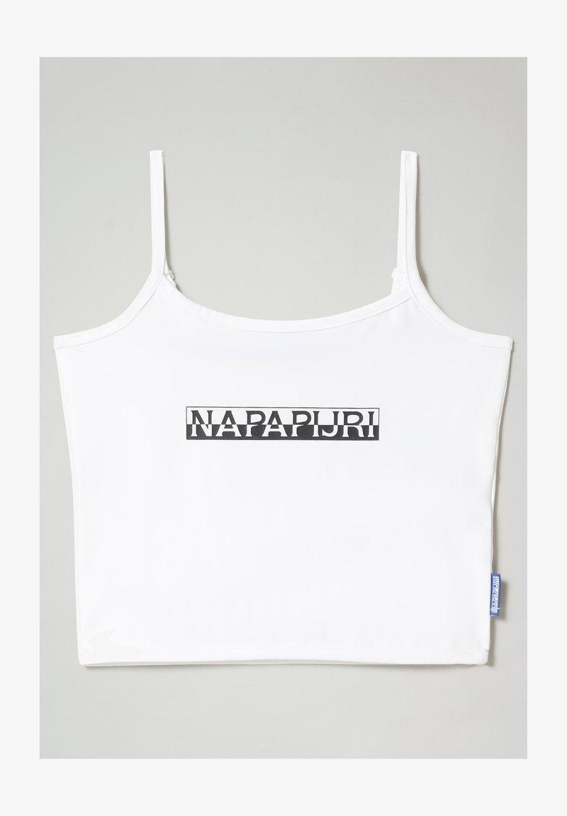 Napapijri - S BOX  - Top - bright white