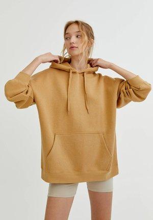 OVERSIZE - Hoodie - camel
