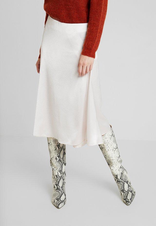 EVA SKIRT - Spódnica trapezowa - morganite