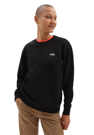 WM FLYING V BF FT CREW - Sweater - black