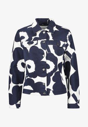 SARPIO UNIKKO - Summer jacket - off-white/dark blue