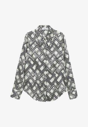 Button-down blouse - écru