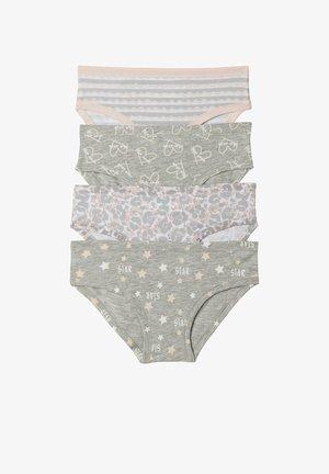 4 PACK - Briefs - grigio/rosa st. star