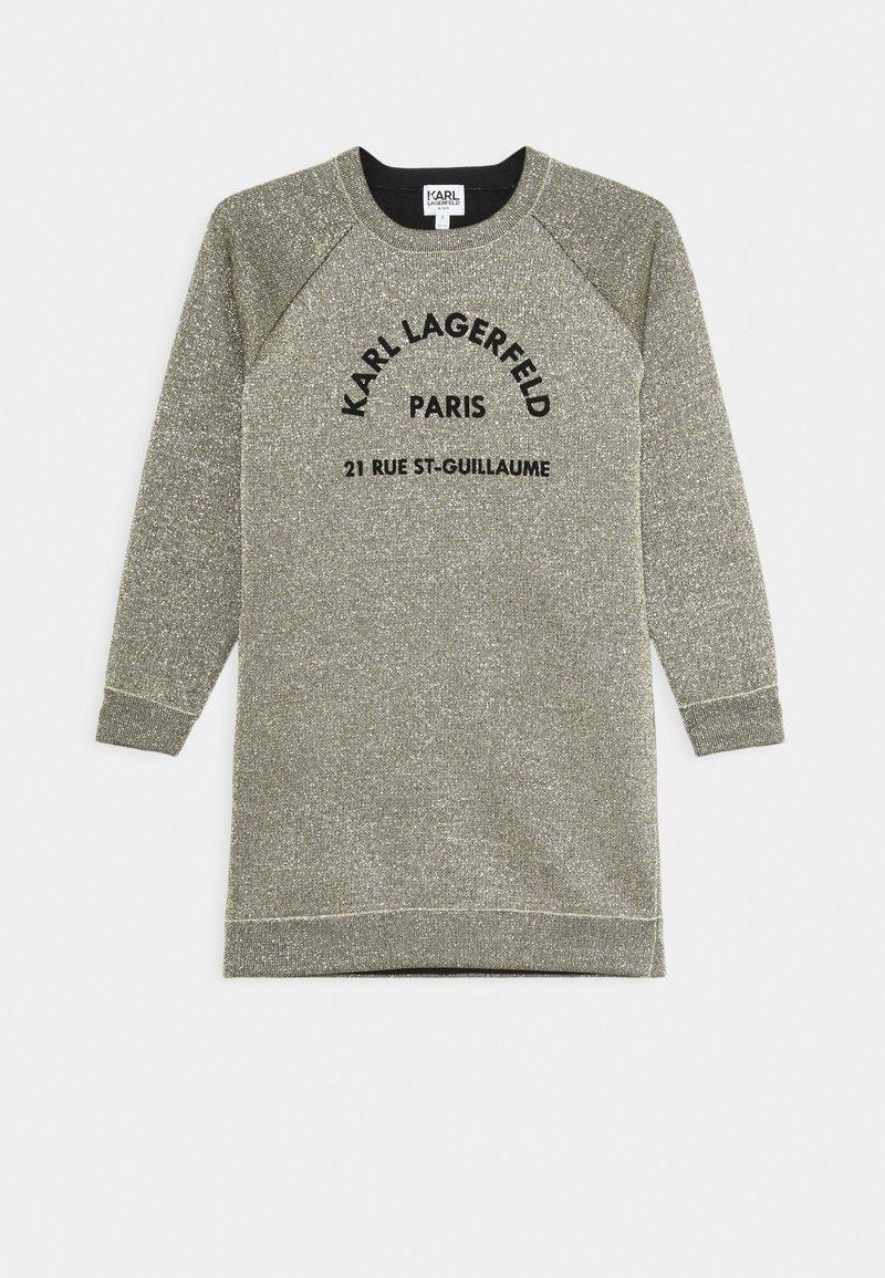 KARL LAGERFELD - DRESS - Jumper dress - lime