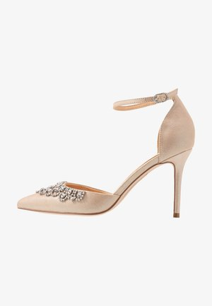 LUCILLE - Højhælede pumps - metallic