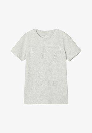 UNIVERSITY-LOGO - Print T-shirt - light grey melange