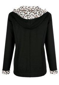 Laura Kent - Zip-up sweatshirt - schwarz - 3