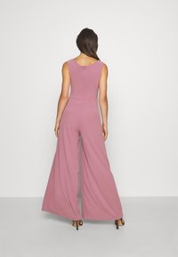 WAL G. - ADELINA WIDE LEG - Jumpsuit - mauve pink - 2