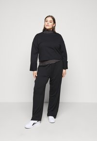 Anna Field - WIDE FIT JOGGERS - Tracksuit bottoms - black - 1