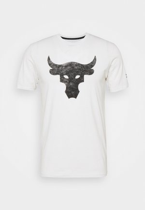 ROCK BRAHMA BULL - Camiseta estampada - onyx white