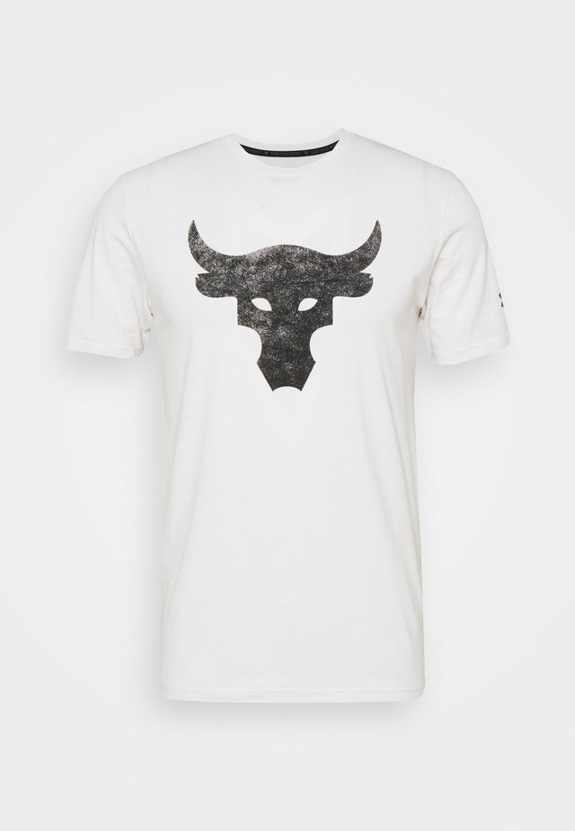 ROCK BRAHMA BULL - Print T-shirt - onyx white