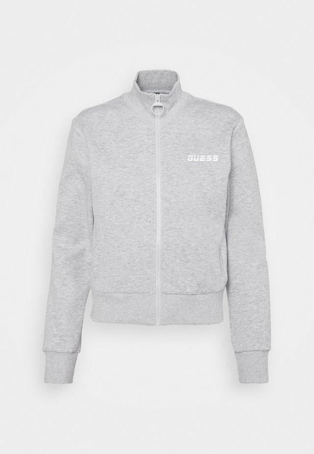 ZIP - veste en sweat zippée - light heather grey