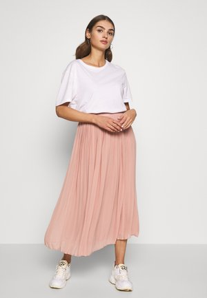 VIPLISSEA MIDI SKIRT - A-Linien-Rock - misty rose