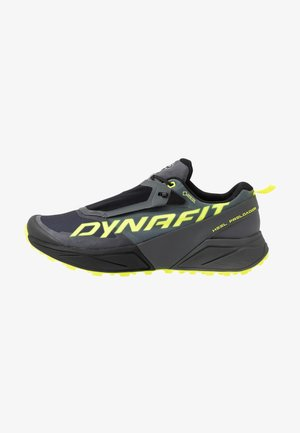 ULTRA 100 GTX - Trail running shoes - carbon/neon yellow