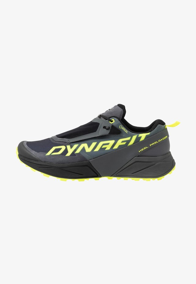 ULTRA 100 GTX - Scarpe da trail running - carbon/neon yellow