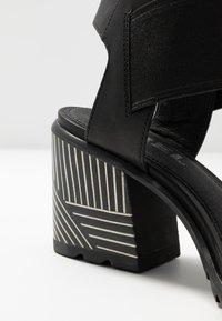 Sorel - NADIA - Sandals - black - 2