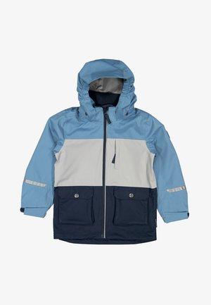 Waterproof jacket - blue heaven