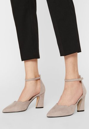 BIACARTER BEACH PUMP - High heels - nougat1