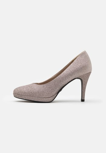 COURT SHOE - High heels - space glam