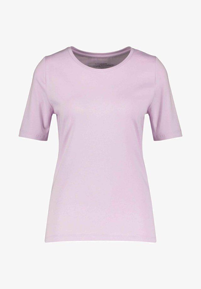 Basic T-shirt - flieder
