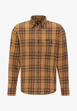 LEESURE  - Skjorter - tobacco brown