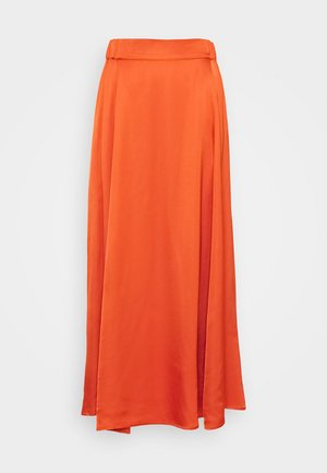 DAISI - A-line skirt - orange sunset