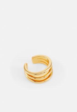 TRIPLE EAR CUFF - Örhänge - pale gold-coloured