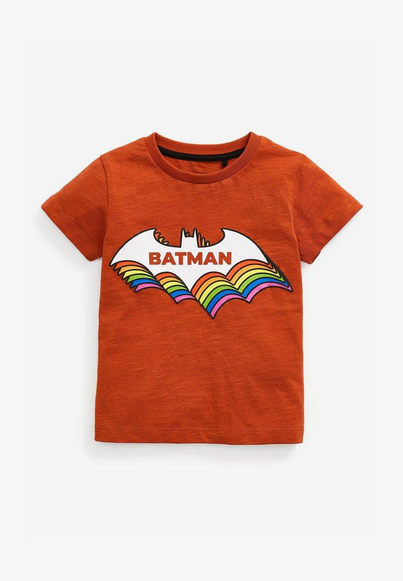 Next - BATMAN - Print T-shirt - brown