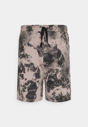 POLLUTION PRINT RELAXED FIT LOUNGE - Shorts - rose