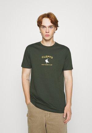 GULLFLYERS - Printtipaita - scarab green