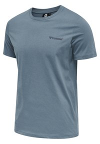 Hummel - HMLTORONTO  - Print T-shirt - china blue - 6