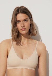 OYSHO - WITH REMOVABLE CUPS - Bustino - beige - 0