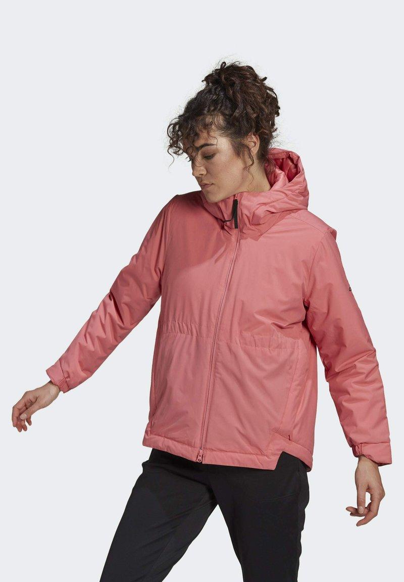 adidas Performance - Winter jacket - pink